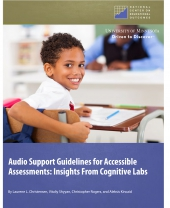Audio Support Guidelines for Accessible Assessments: Insights From Cognitive Labs