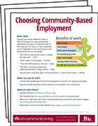 Make Work a Part of the Plan Fact Sheets
