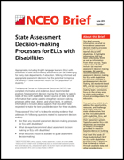 State Assessment Decision-Making Processes for ELLs with Disabilities (#9)