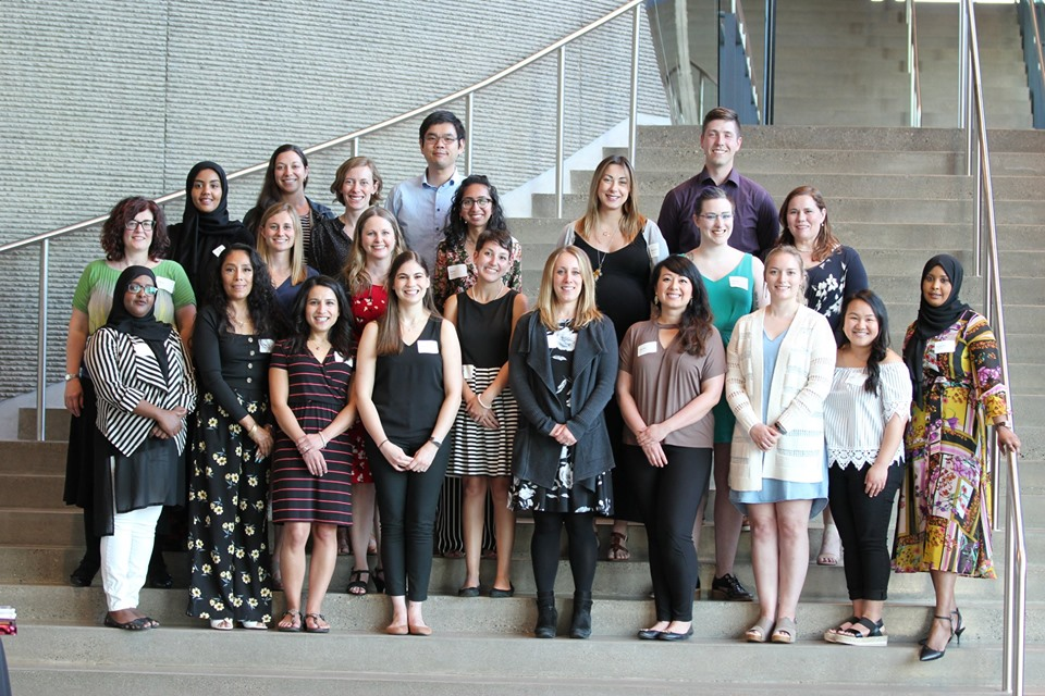 The graduating class of the 2018-19 cohort of MNLEND Fellows.