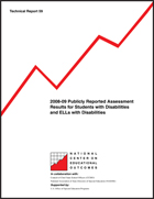 2008-09 Publicly Reported Assessment Results for Students with Disabilities and ELLs with Disabilities (#59)