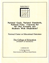 National Goals, National Standards, National Tests: Concerns for All (Not Virtually All) Students With Disabilities? (#11)