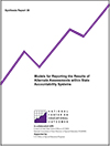 Models for Reporting the Results of Alternate Assessments Within State Accountability Systems (#39)