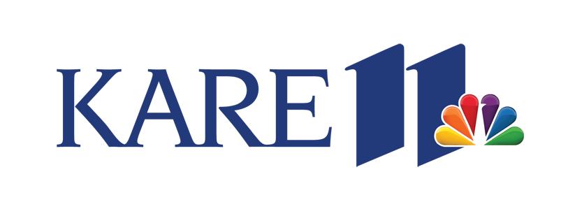 Logo of KARE 11 television.