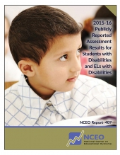 2015-16 Publicly Reported Assessment Results for Students with Disabilities and ELs with Disabilities (#407)
