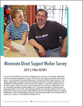 Direct Support Worker Survey 2019 Final Report