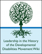 Leadership in the History of the Developmental Disabilities Movement Wiki
