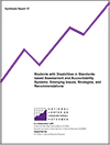 Students with Disabilities in Standards-Based Assessment and Accountability Systems: Emerging Issues, Strategies, and Recommendations (#37)