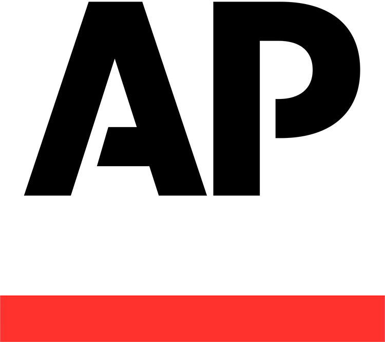 Logo for the Associated Press (AP).