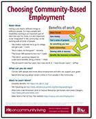 Choosing Community-Based Employment
