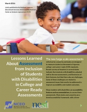 Lessons Learned About Assessment from Inclusion of Students with Disabilities in College and Career Ready Assessments