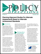 Planning Alignment Studies For Alternate Assessments Based on Alternate Achievement Standards (#20)