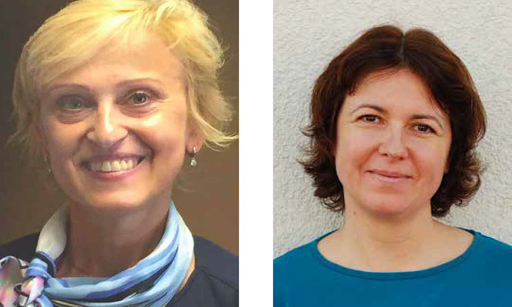 Headshots of Dr. Jana Kratochvílová and Jarmila Bradová from Masaryk University in the Czech Republic.