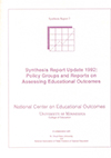 Synthesis Report Update 1992: Policy Groups and Reports on Assessing Educational Outcomes (#2)