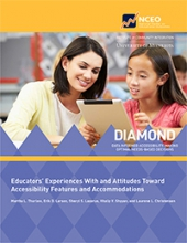 Educators' Experiences With and Attitudes Toward Accessibility Features and Accommodations