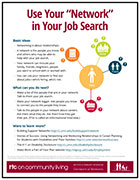 "Use Your ""Network"" in Your Job Search"