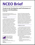 Trends in the Participation and Performance of Students with Disabilities (NCEO Brief)