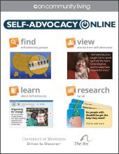 Self-Advocacy Online