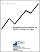 Math Strategy Instruction for Students with Disabilities who are Learning English (#16)