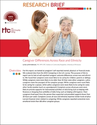 FSRTC Research Brief 2: Caregiver Differences Across Race and Ethnicity