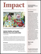 Feature Issue on Sexuality and People with Intellectual, Developmental and Other Disabilities