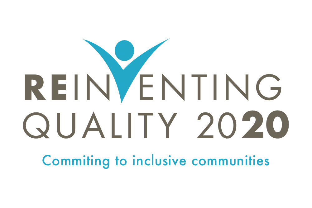 Logo to the Reinventing Quality 2020 virtual conference.