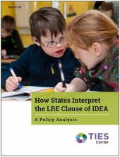 How States Interpret the LRE Clause of IDEA: A Policy Analysis (#101)
