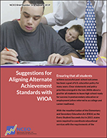 Suggestions for Aligning Alternate Achievement Standards with WIOA (#16)
