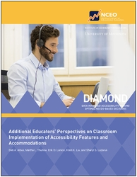 Additional Educators' Perspectives on Classroom Implementation of Accessibility Features and Accommodations