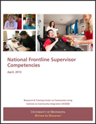 National Frontline Supervisor Competencies
