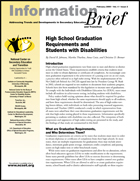 High School Graduation Requirements and Students with Disabilities