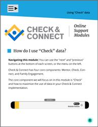"""How do I use """"Check"""" data?"""