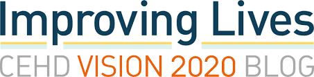 Logo of Improving Lives -- CEHD Vision 2020 Blog.