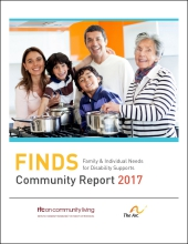 Family & Individual Needs for Disability Support (FINDS) Community Report 2017