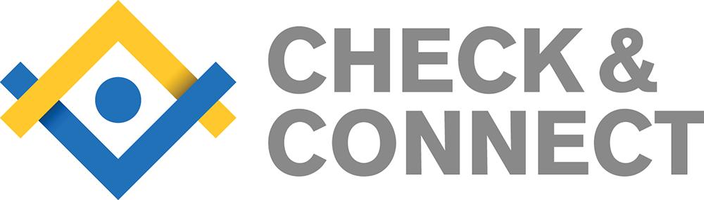 Check & Connect logo.