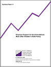 Empirical Support for Accommodations Most Often Allowed in State Policy (#41)