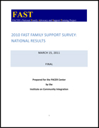 FAST Family Support Survey [2010]: National Results