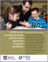 MTSS for All: Including Students with the Most Significant Cognitive Disabilities