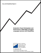 Graduation Exam Participation and Performance (1999-2000) of English Language Learners with Disabilities (#2)