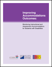 Improving Accommodations Outcomes: Monitoring Instructional and Assessment Accommodations for Students with Disabilities