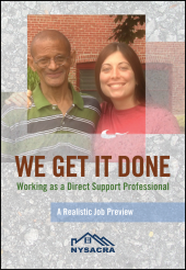 We Get It Done: Working as a Direct Support Professional