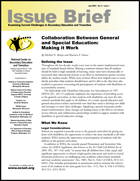Collaboration Between General and Special Education: Making it Work