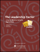 The Leadership Factor: A Key to Effective Inclusive High Schools