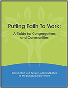 Putting Faith to Work: A Guide for Congregations and Communities
