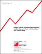 Diploma Options, Graduation Requirements, and Exit Exams for Youth with Disabilities: 2011 National Study (#62)