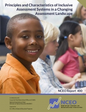 Principles and Characteristics of Inclusive Assessment Systems in a Changing Assessment Landscape (#400)
