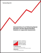 Characteristics of Low Performing Special Education and Non-Special Education Students on Large-Scale Assessments (#60)