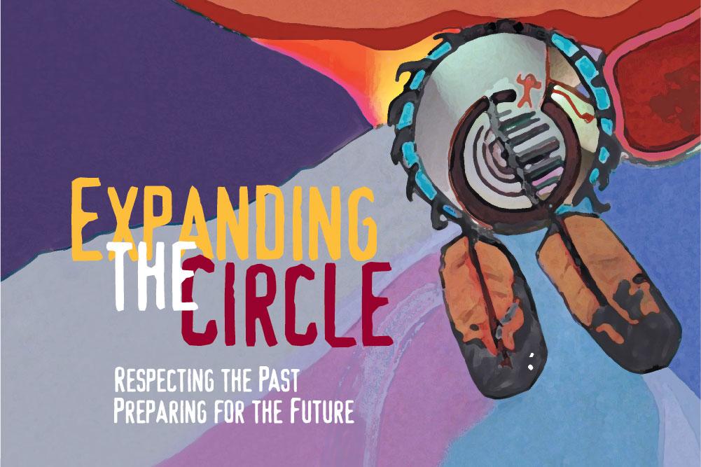 Expanding the Circle logo.