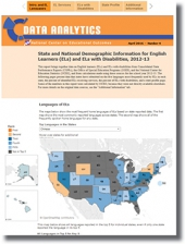 State and National Demographic Information for English Learners (ELs) and ELs with Disabilities, 2012-13 (#4)