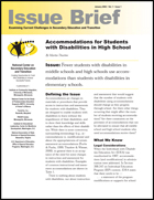 Accommodations for Students with Disabilities in High School